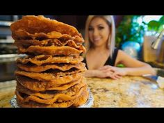 Hello my beautiful fam welcome back to my kitchen, today I'm going to share with you the most delicious and the best buñuelos! This is my grandmas recipe a. Best Mexican Recipes, Mexican Dinner Recipes, Mexican Bunuelos Recipe, Barley Salad, Christmas Desserts, Christmas Ideas, All Vegetables, Fritters, Other Recipes