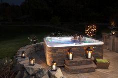 Decora tu jardin con un spa Hotspring