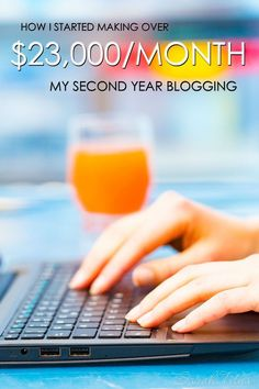 Who says it takes years to grow a successful blog? I have about 1.5 million in pageviews and make $23,000/month income, all by time I was 2 years blogging! Here's how I started making $23,000/month my second year blogging!