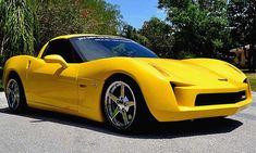 Was kann man nicht alles aus seiner C6-Corvette machen? Zum Beispiel eine C7-Stingray-Concept-Replica. So kürzlich geschehen ... >> Mehr zum Thema Tuning... in den USA, allerdings sieht das Endergebnis