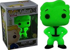 Funko Pop! Fallout Vault Boy Exclusive Glows in the Dark Exclusive Vinyl Figure in Collectibles, Pinbacks, Bobbles, Lunchboxes, Bobbleheads, Nodders | eBay