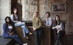 Young, outspoken and ferociously talented, Britain's female playwrights, for   the first time in history, have the theatrical establishment at their feet.