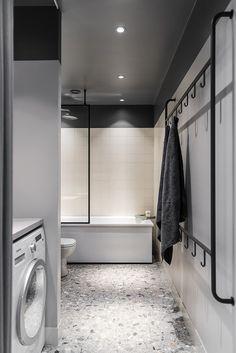 Современная скандинавская квартира залитая светом (70 кв. м)   Пуфик - блог о дизайне интерьера