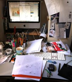 An interview with Kris Di Giacomo — Art of the Picture Book Pc Desk, Desk Setup, House Season 7, Spencer House, Hall House, New Children's Books, Best Children Books, Home Office Setup, Pencil And Paper