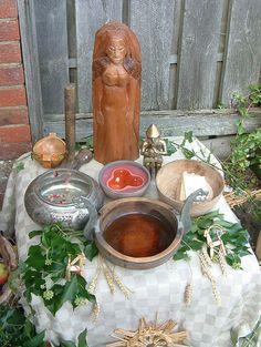 Asatru altar