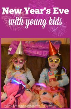 Just because you've got young kids doesn't mean you can't have any fun on New Year's Eve. Here's what we do to have celebrate with our preschooler.