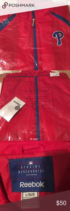 Philadelphia Phillies zip up jacket Phillies light weight zip up jacket Brand new Sweaters Zip Up