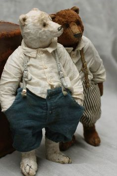 teddy bear invention Old Teddy Bears, Antique Teddy Bears, 3 Bears, Tatty Teddy, Love Bear, Bear Doll, Old Toys, Vintage Toys, Art Dolls