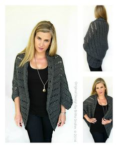 This listing is for my new Oversized Chunky Shrug crochet pattern. This pattern is offered for sale as a digital file (pdf), available for you to