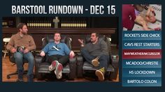 Barstool Rundown - December 15, 2016 - http://www.truesportsfan.com/barstool-rundown-december-15-2016/