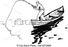 Un pescador en un bote pescando un carrete. Accessoires Kayak, Hair Salon Logos, Fish Drawings, Wood Burning Art, Fishing Quotes, Circuit Projects, S Tattoo, Manish, Craft Sale
