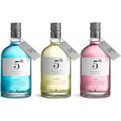 5th Gin Variation Set - Die spanische Hommage an die Elemente Fire, Water & Earth