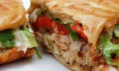 Baked Crab Meat Sandwich