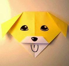 Elişi Kağıttan Gülen Köpek Yapımı