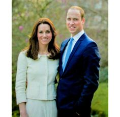 New portrait of TRH The Duke and Duchess of Cambridge