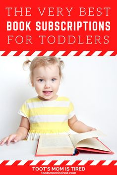 The Best Book Subscriptions For Toddlers | Book subscription services for kids, toddlers, and preschoolers. Book boxes for kids. subscription gift ideas for kids. Toddler Books, Childrens Books, Two Years Old Activities, Book Boxes, Tired Mom, Subscription Gifts, Kids Lighting, Three Year Olds, Got Books