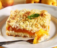 Our Brighton Gardens of Friendship Heights, MD, community dining services coordinator created a community favorite recipe for Apricot Crumb Bars - try making this tasty recipe today! Baking Recipes, Cake Recipes, Apricot Bars, Delicious Desserts, Yummy Food, Mardi Gras Food, Recipe Details, Cookie Desserts, Recipe Using