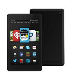 """Fire HD 6, 6"""" HD Display, Wi-Fi, 8 GB - Includes Special Offers, Black. Shopswell 