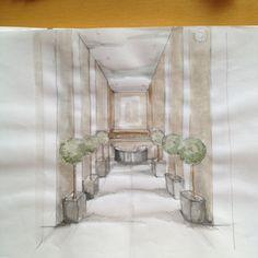 Progetto entrata albergo