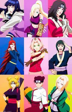 Girls in Naruto Shippuden