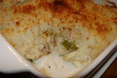 Lili popotte: Pâté parmentier au poisson Hummus, Mashed Potatoes, Grains, Ethnic Recipes, Oui, Comme, Food Recipes, Panko Bread Crumbs, Other Recipes