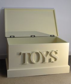 Bespoke gorgeous Christmas present for the children in your life! #Toybox #wooden #handcrafted #handmade #farrowandball