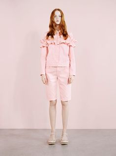 Take your first look at Simone Rocha x J Brand – denim with no gimmicks but plenty of frills: http://www.dazeddigital.com/fashion/article/22275/1/take-your-first-look-at-simone-rocha-x-j-brand