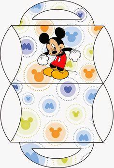 Divertido Kit de Mickey para Imprimir Gratis.