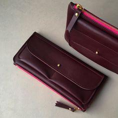 Nappa burgundy / Exquisite !! #ateliersaintloup