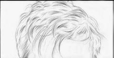 Desenhe Tudo: Como desenhar cabelo curto