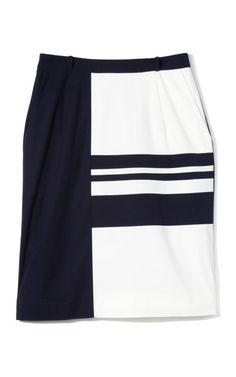 "Preen ""Reta"" Skirt.  Elegant, simple, classic."