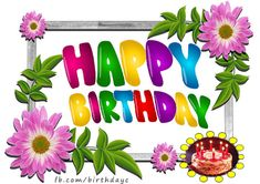 Today I wish you a fun time Happy Birthday Flowers Wishes, Happy Birthday Greeting Card, Greeting Cards, Wishes Messages, Fun Time, Good Times