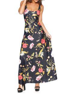 Brass Garden Maxi Dress - LIMITED (AU $140AUD) by Black Milk Clothing - LARGE