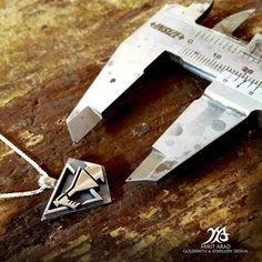 Depeche Mode sterling silver STRIPPED by LittleTreasuresByMir