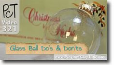 Glass Ball Ornaments Do's & Don'ts