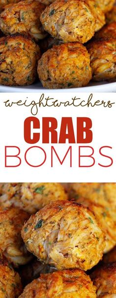 Weight Watcher's Crab Bombs!!! - Low Recipe