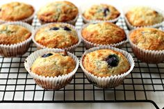 Milk and Honey: Perfect Blueberry Muffins