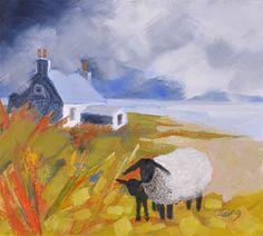 ROWENA LAING: Scottish island
