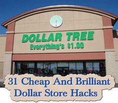 31 Cheap And Brilliant Dollar Store Hacks   We all would love to save time and money. Really, anything that helps to make our life that little bit easier is