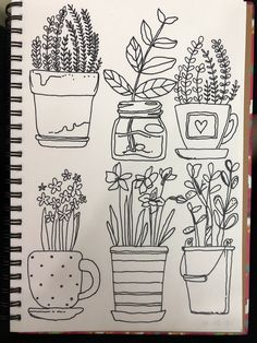 Pin by rutika on doodles. Bullet Journal Art, Bullet Journal Ideas Pages, Bullet Journal Inspiration, Art Journal Pages, Doodle Drawings, Easy Drawings, Drawing Sketches, Line Doodles, Flower Doodles