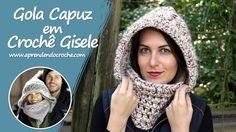 Gola Capuz em Crochê Gisele - Aprendendo Crochê Nossa versão em crochê da Gola Capuz usada pela Top Gisele Bündchen! Receita passo a passo completo em vídeo!A receita completa com o passo a passo você encontra em nosso site: http://ift.tt/2pg2cVY NO CANALhttps://www.youtube.com/user/aprenden...NOSSO SITEhttp://www.aprendend