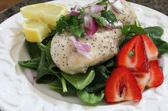 Mix and Match Mama: Dinner Tonight: Lemon Poppy Seed Baked Chicken