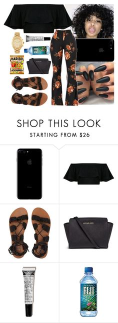 """Dreamer-August Alsina"" by nasza ❤ liked on Polyvore featuring Billabong and Michael Kors"