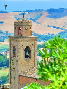 Fermo, Marche. Italy- Campanile con antenna -Photo by Gianni Del Bufalo (CC BY-NC-SA 2.0)इटली  意大利 Italujo イタリア Италия איטאליע إيطاليا