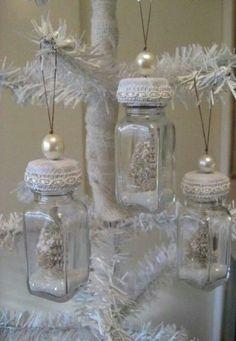 Repurposed vintage salt shakers :)