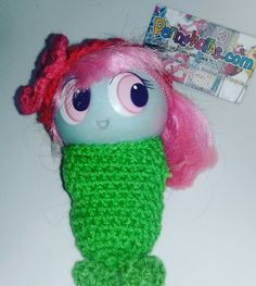 Colita de sirena en crochet para tu pequeño Ksi merito Juego de 2 piezas