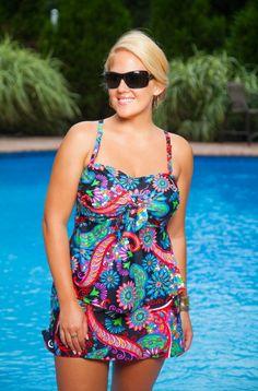 4fa29f509b60c Aegean Plus Size Skirtini Set. Women s Plus Size SwimwearWomen s Swimwear BikinisTankiniBadenSwimsuit ...