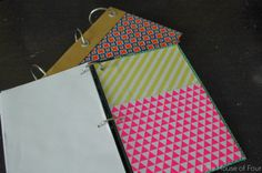 Little House of Four: How to make a Reader's Digest Notebook...