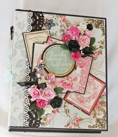 Anna Griffin Camilla Scrapbook Mini Photo Album