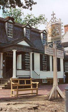 Scrumpdillyicious: Colonial Williamsburg's Cream of Peanut Soup